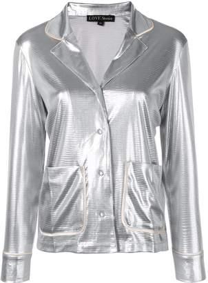 Love Stories metallic pyjama top
