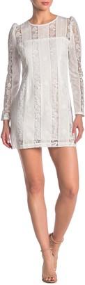 Yumi Kim Good Timing Lace Mini Dress