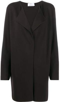 Allude oversized knit cardi-coat