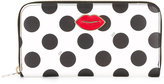 Charlotte Olympia dots print wallet - women - Leather/Metal (Other) - One Size