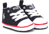 Ralph Lauren Harbour sneakers - kids - Polyurethane/Canvas - 16