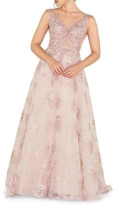Mac Duggal Embellished Ball Gown