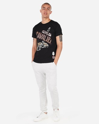 Express Cleveland Cavaliers Nba Crew Neck Graphic T-Shirt