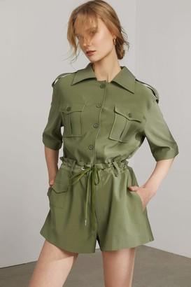 J.ING Opuntia Green Button Up Shirt