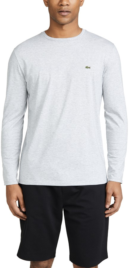 39510d34 Lacoste Long Sleeve Tee - ShopStyle
