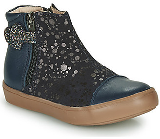 GBB OKITA girls's Mid Boots in Blue
