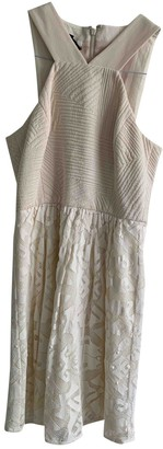 Anthropologie Ecru Cotton Dresses