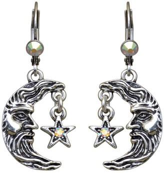 Kirks Folly Moon Shadow Leverback Earrings
