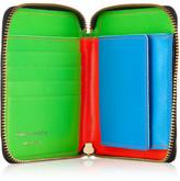 Comme des Garcons Super Fluro leather wallet