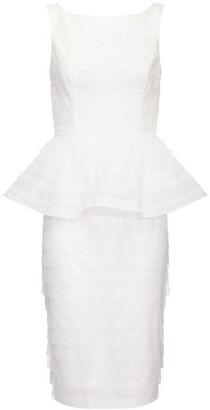 Adrianna Papell Petal Peplum Dress