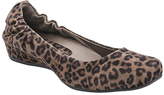 Earthies Leopard Suede Tolo Flat
