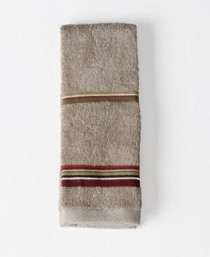 Saturday Knight Madison Stripe Tip Towel Bedding