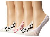 Kate Spade 4-Pack Liner Socks