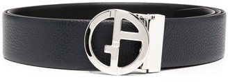 Giorgio Armani Logo-Buckle Belt