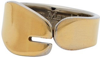 Maison Margiela Gold Tabi Ring