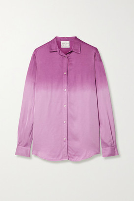 Forte Forte Ombre Satin Shirt