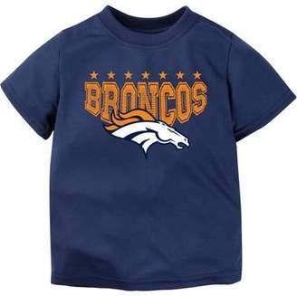 Nfl NFL Denver Broncos Boys Short Sleeve Performance Team T Shirt