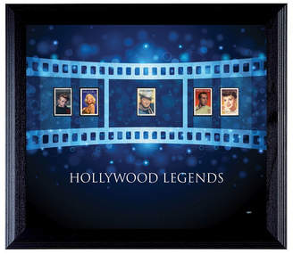 S.t.a.m.p.s. American Coin Treasures Hollywood Legends Wall Frame with