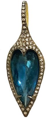 Cathy Waterman Tourmaline Elongated Jeweled Thorn Charm - Yellow Gold