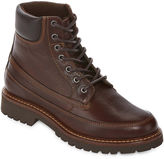 ST. JOHN'S BAY St. John's Bay Mens Scenic Leather Lace Up Boots