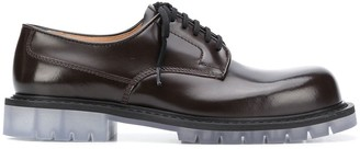 Bottega Veneta transparent sole Derby shoes