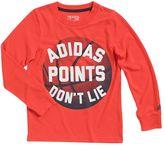 "adidas Boys 4-7x Go-To ""Points Don't Lie"" Basketball Tee"