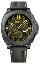 Hugo Boss 1513243 Chronograph Black Silicone Strap Watch One Size Assorted-Pre-Pack