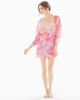 Soma Intimates Chelsea Short Robe Coral