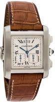 Cartier Tank Française Chronoflex Watch