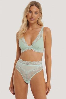 NA-KD Romantic Lace Highwaist Panty