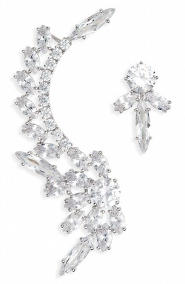 Nordstrom Mismatched Crystal Earrings