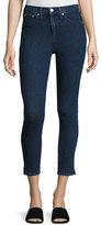 Rag & Bone 10 Inch Skinny Capri Jeans with Slit, Clean Dark Paz