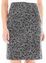 Liz Claiborne Cotton Pencil Skirt