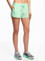 """Old Navy Semi-Fitted Go-Dry Cool Mesh Shorts for Women (3 1/2"""")"""