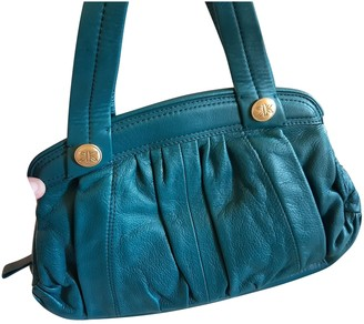 Non Signã© / Unsigned Turquoise Leather Handbags