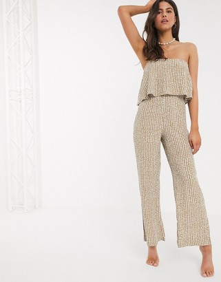 Rip Curl Paradise Cove jumpsuit in spot