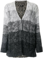 Twin-Set ombré knitted cardigan
