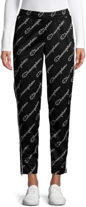 Champion Logo-Print Drawstring Track Pants