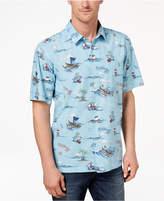 Quiksilver Waterman Men's Printed Holiday Shirt