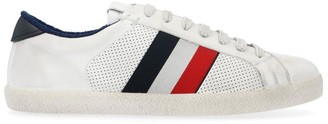 Moncler Tri-Colour Striped Low-Top Sneakers