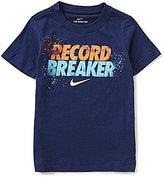 Nike Little Boys 2T-7 Record Breaker Short-Sleeve Tee