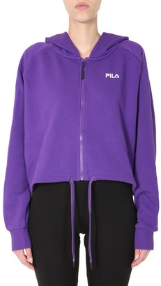 Fila Cailyn Zipped Hooded Sweatshirt