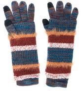 Muk Luks Women's Striped 3-in-1 Gloves