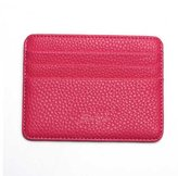 DreamBox Leather Slim Minimalist Front Pocket Wallets Thin Card Holder