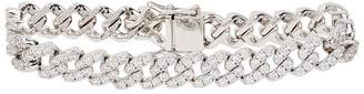 Fallon Pave Crystal-embellished Silver-tone Bracelet