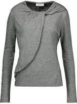 Carven Knotted Jersey Top