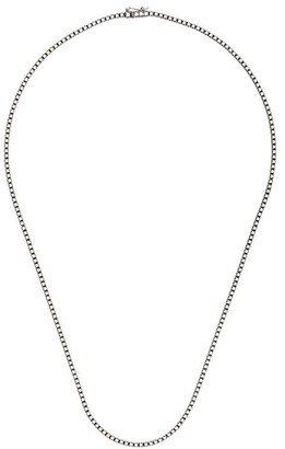 Eva Fehren 18kt white gold The Line diamond choker