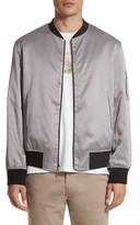 Ovadia & Sons Men's Reversible Zip Front Bomber Jacket