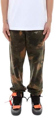 Off-White Off White Paintbrush Camouflage Pants
