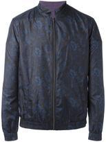 Etro floral print lightweight jacket - men - Cotton/Polyester - M